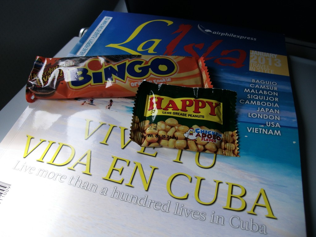 Complimentary Snacks from AirPhil Express (Cebu-Clark)
