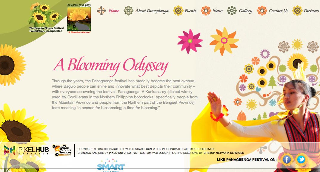 Visit the Panagbenga Festival 2013 Website at http://www.panagbengaflowerfestival.com