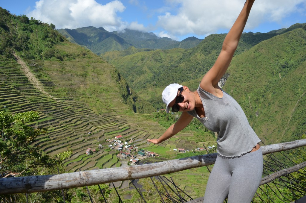 Alex truly enjoyed her time in Batad!