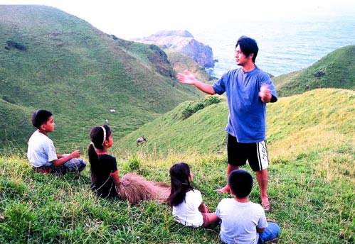 Taiwanese star Ken Zhu in the movie 'Batanes'