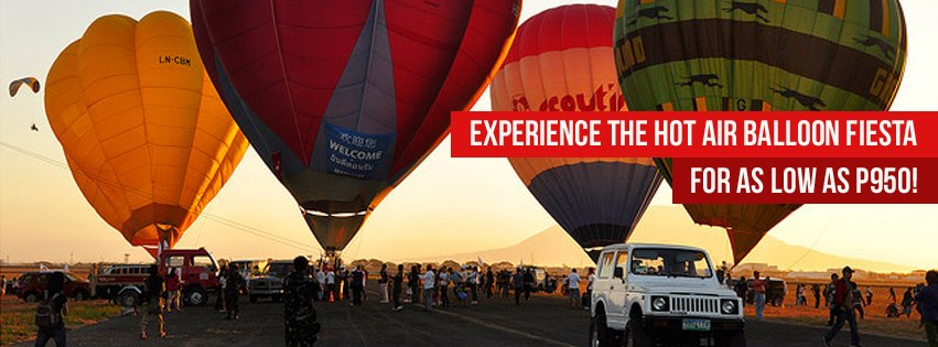 Hot Air Balloon Trip with Byaheng Victory