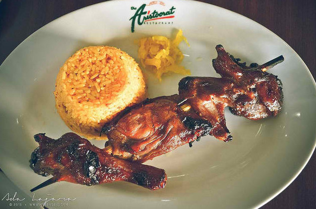 Grilled Chicken BBQ at The Aristocrat Restaurant Subic (Photo by Ada)