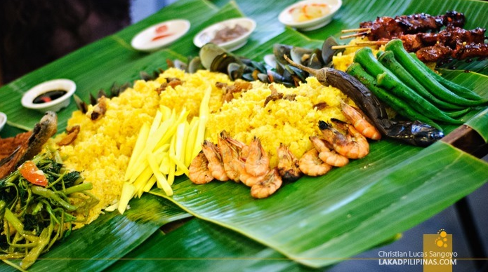 Dagupan (Pangasinan) Boodle at Seafood Island - Harbor Point (Photo by Christian)