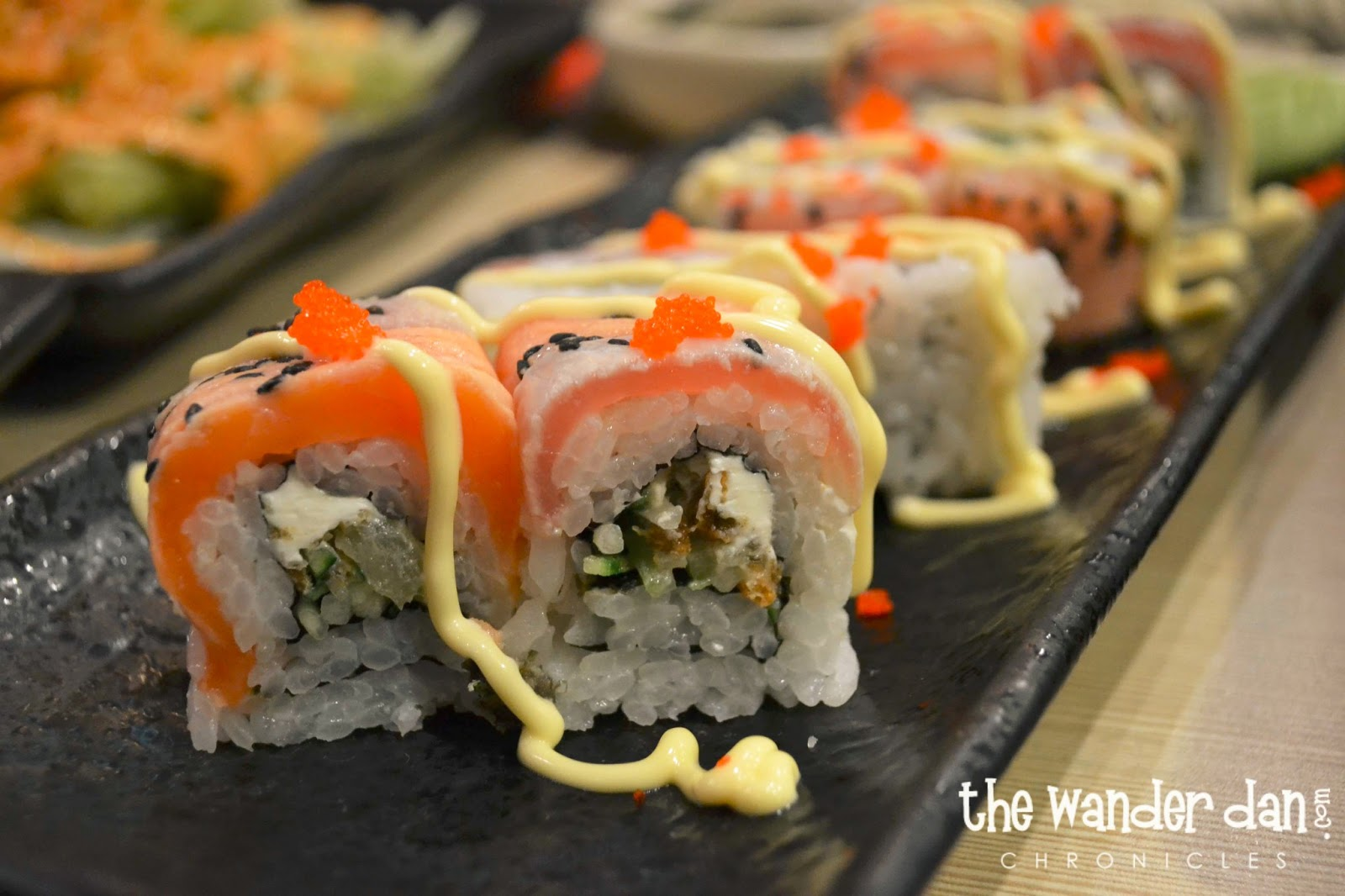 Satisfy your Sushi cravings at Sumo Sam Harbor Point! (Photo by Dan)