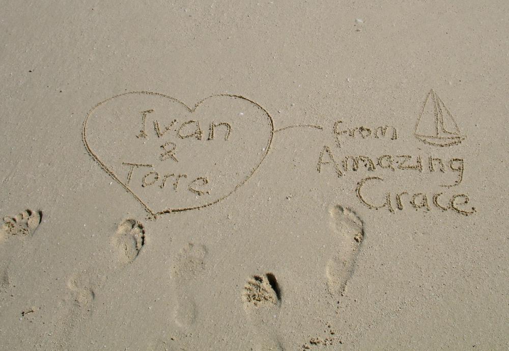LWACOD-Love_Note_On_Sand