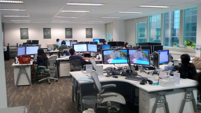 A glimpse of the Skyscanner HQ