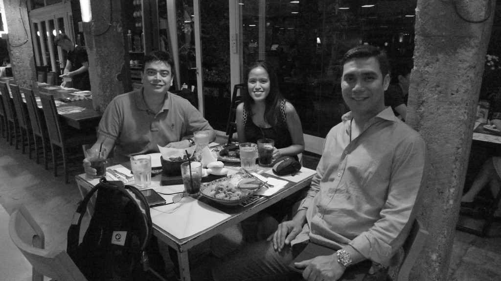 Dinner at House Dempsey Hill with Tito Raymond and Tito Alex