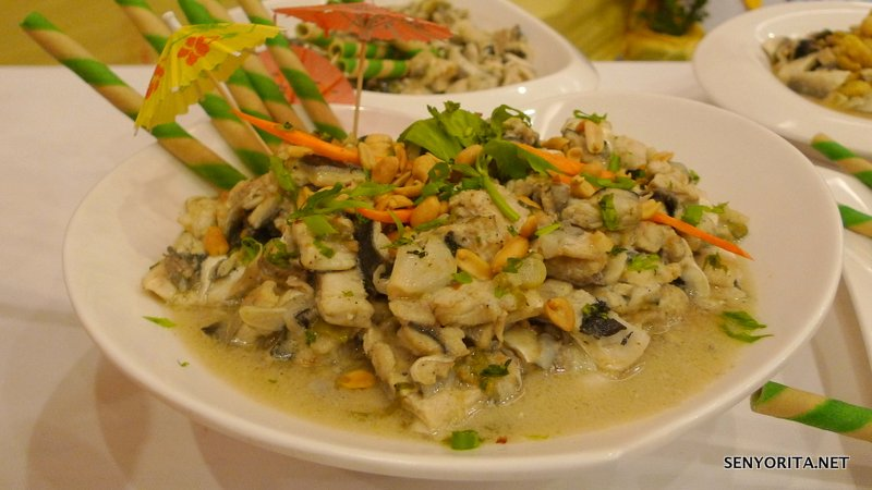 Thai Bangus with Peanut Sauce