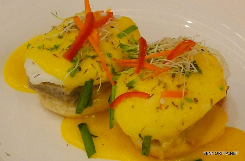 Bangus Eggs Benedict by Lyceum-Northwestern University