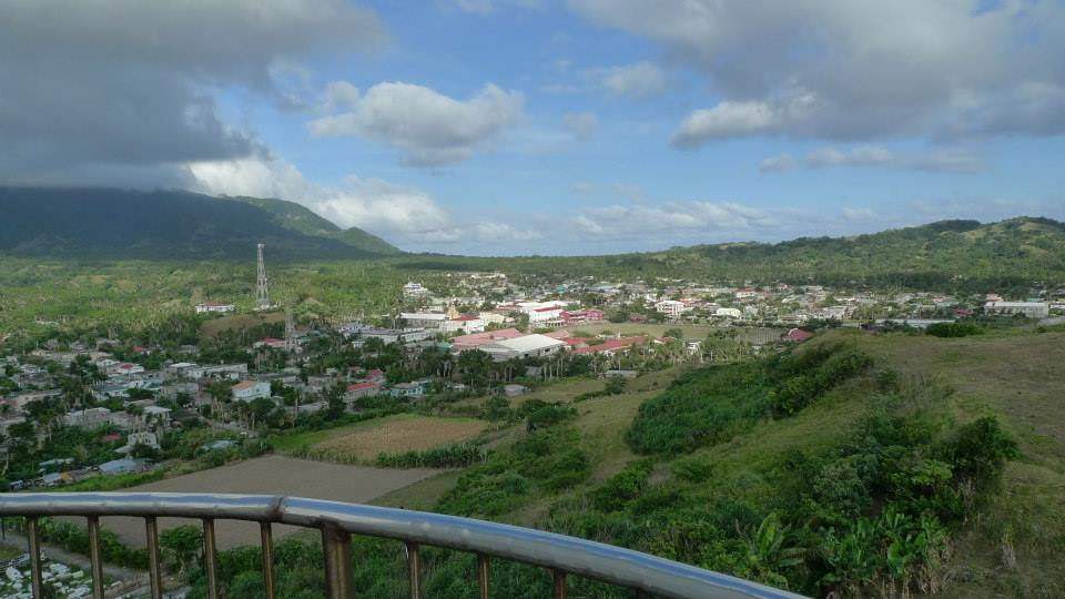 Basco Town view as seen on Basco Lighthouse