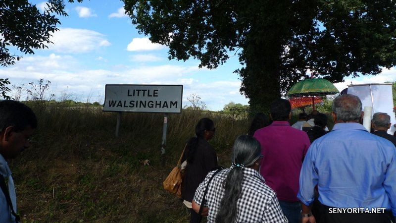 Little Walsingham Sign