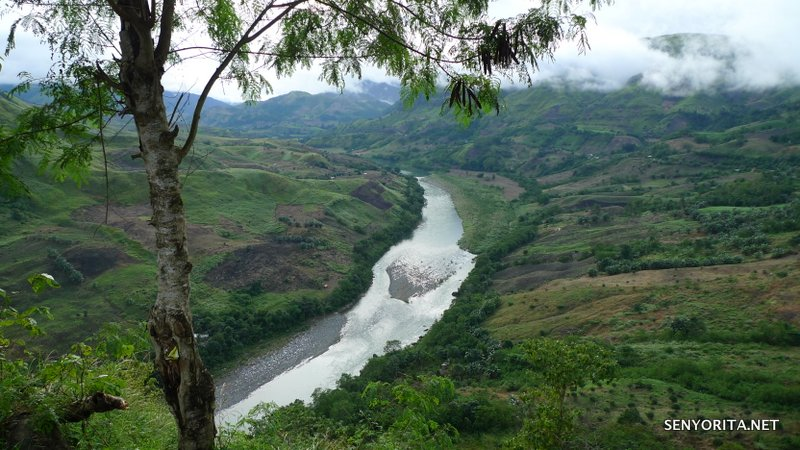 Enchanting Cagayan River as seen from the Landingan Viewpoint