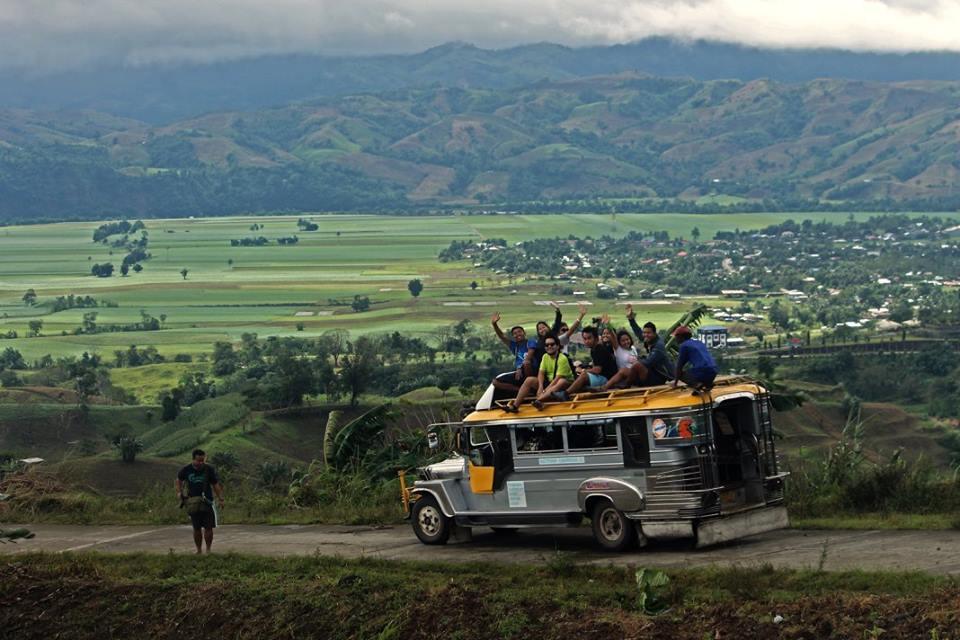 Jeepney Topload in Nagtipunan. Ang saya! | Photo by EAZY Traveler