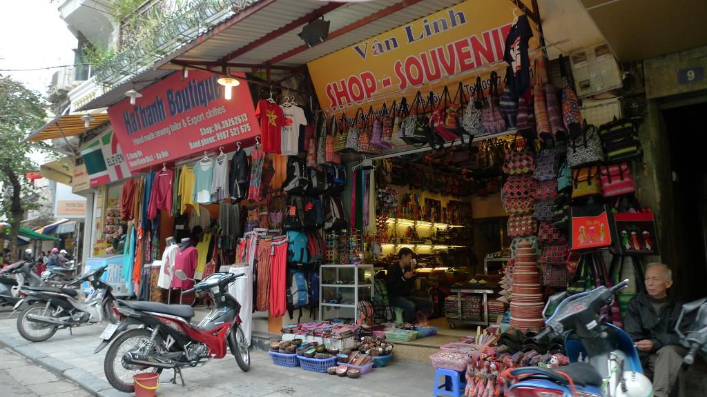 Hanoi-CycloTour-Shopping