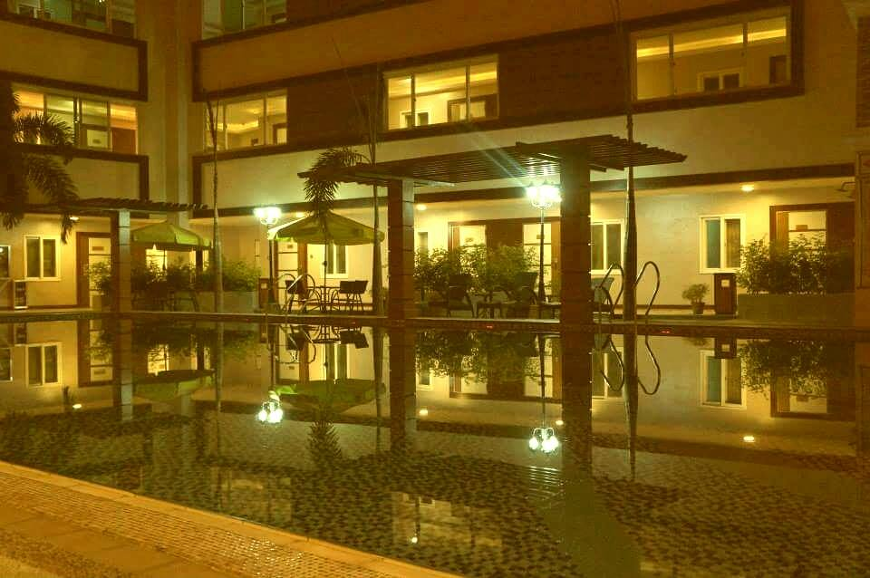 Inter Park Hotel Subic didn't have any swimming pool the last time we stayed there! | Photo grabbed from the hotel's FB page