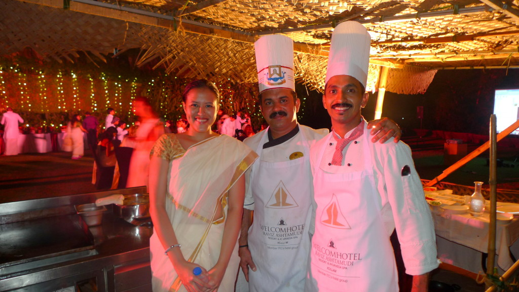 Two of the nicest chefs I met in Kerala :D