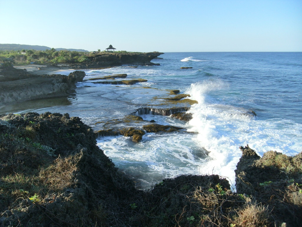 Rock Formation in Bolinao. Photo taken using my JeJeCam