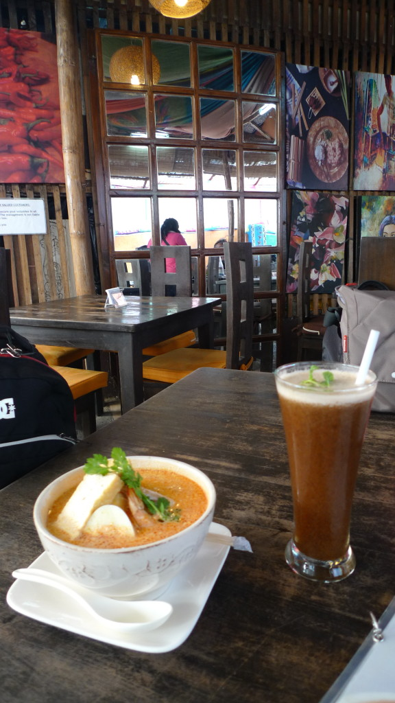Lunch at Ketchup Food Community's Rumah Sate- Laksa and Tamarind Juice