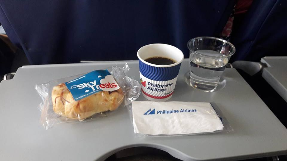 PAL Sky Treats + Coffee + Water