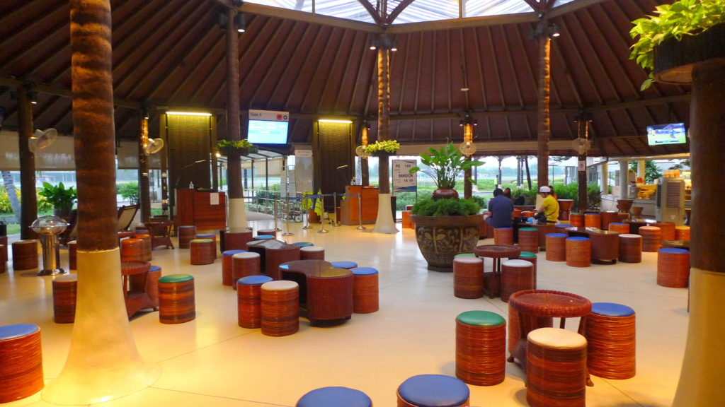Samui Airport's Departure Boarding Area