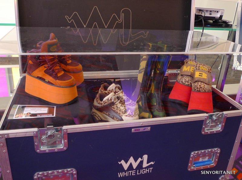 Some of Melanie B a.k.a. Scary Spice' Footwear!