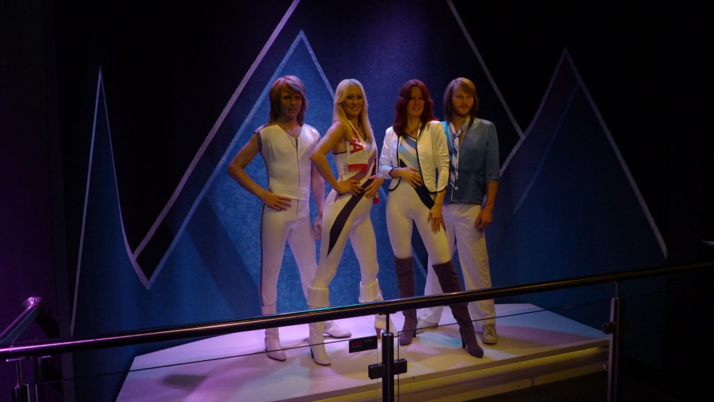 ABBA is the most successful pop band from Sweden!