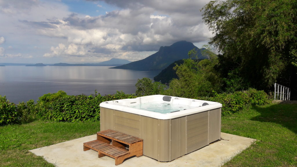 It would be nice to just chill in the jacuzzi after a day's work in the farm or a Mt. Maculot trek.