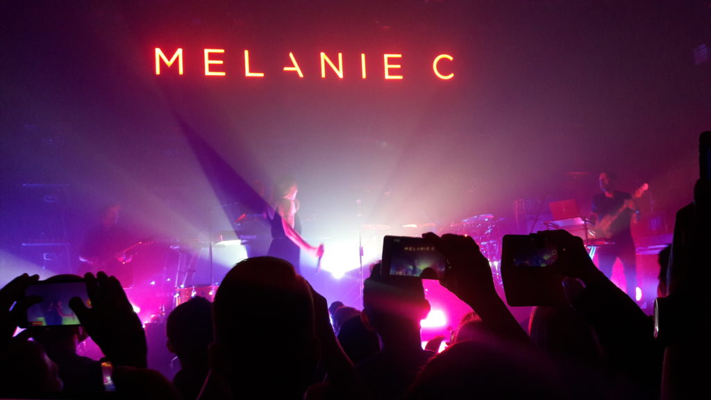 MELANIE C HAS ARRIVED!